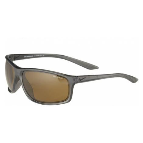NIKE Sportowe okulary przeciwsłoneczne 'Adrenaline E CW4680' szary / czarny