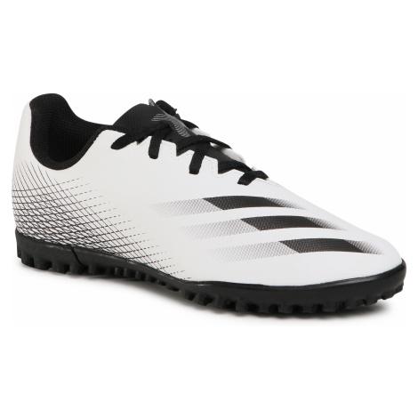 Buty adidas - X Ghosted.4 Tf J FW6801 Ftwwht/Cblack/Silvmt