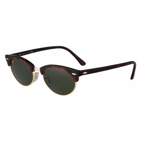 Ray-Ban Okulary przeciwsłoneczne brązowy / ciemnozielony