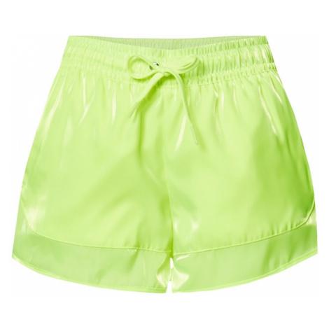 Nike Sportswear Spodnie neonowa zieleń