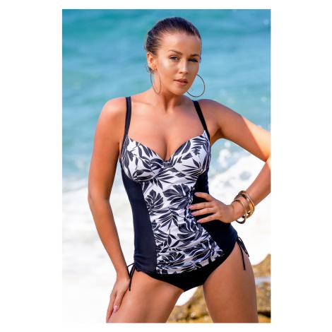 Górna część damskiego kostiumu kąpielowego tankini Bali Black