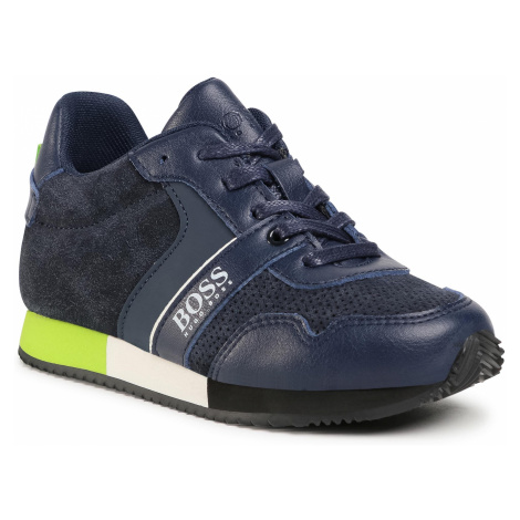 Sneakersy BOSS - J29225 S Navy 849 Hugo Boss