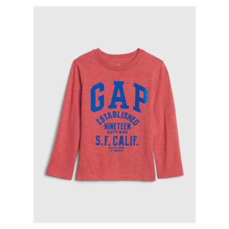 GAP czerwony chłopięce koszulka