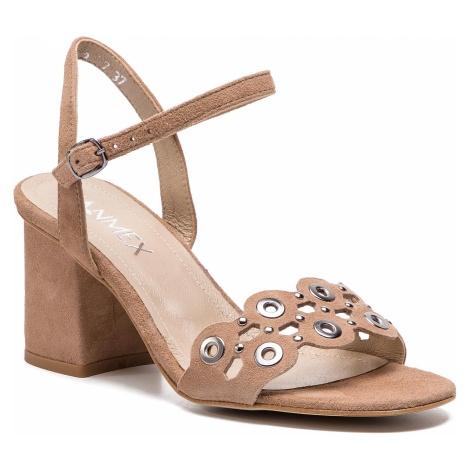 Sandały ANN MEX - 0188 03W Beż