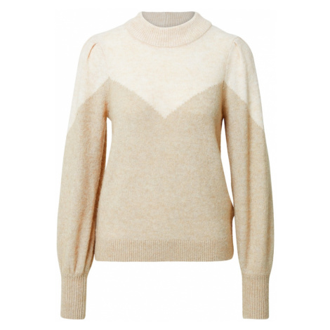 SELECTED FEMME Sweter 'Star' beżowy