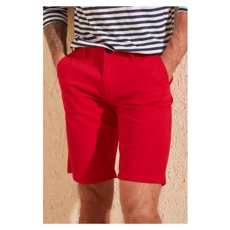 Trendyol Red Men Chino Shorts & Bermuda