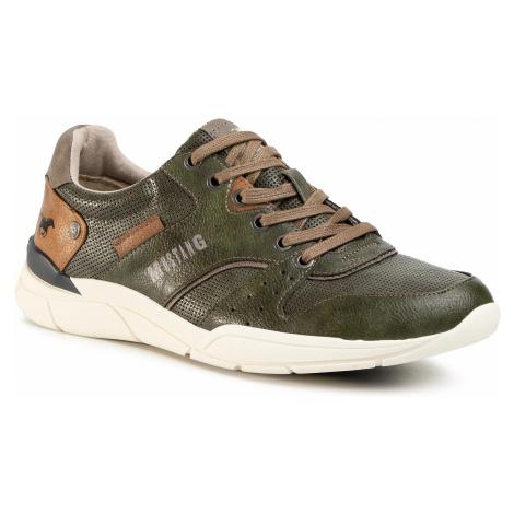 Sneakersy MUSTANG - 4153-302-700 Dunkelgrun