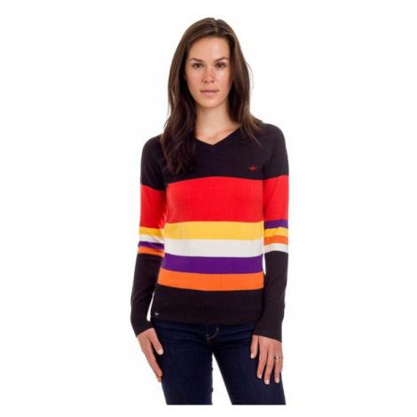 Damski Sweter 100% Wyczesanej Bawełny | Brązowy Heat Ladies´Jumper Woox
