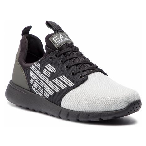 Sneakersy EA7 EMPORIO ARMANI - X8X007 XCC02 K086 Grey Tri Tonal