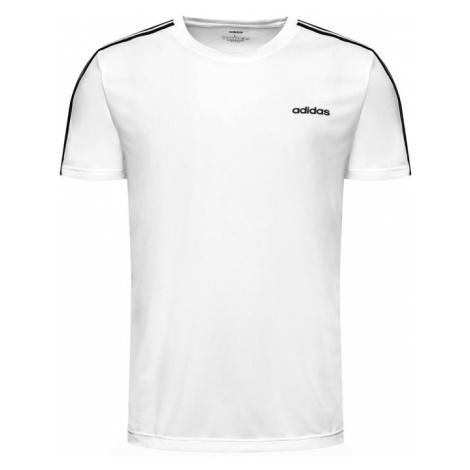 Adidas Koszulka techniczna M D2M 3S Tee FL0356 Biały Standard Fit
