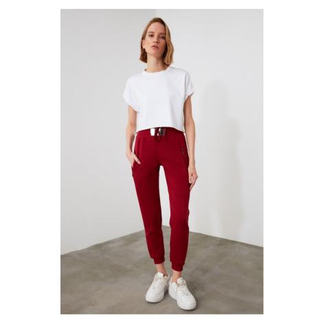 Spodnie dresowe damskie Trendyol High Waist