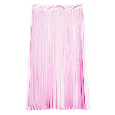 Miss Selfridge Spódnica fioletowy / różowy pudrowy
