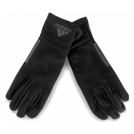 Rękawiczki Damskie adidas - Clmht Gloves BR0739 S Black/Black/Blkref