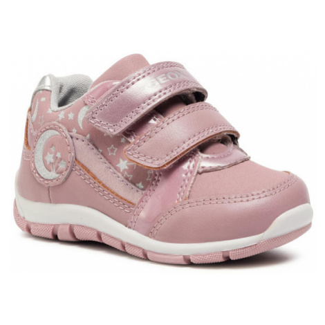 Geox Sneakersy B Heira G. A B043YA 05450 C0514 S Różowy