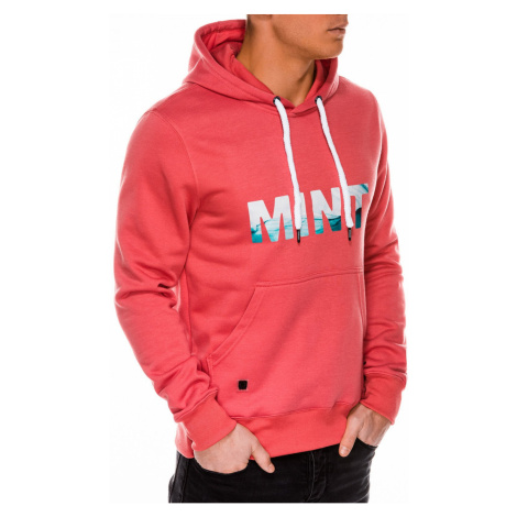 Ombre Clothing Men's printed hoodie B994