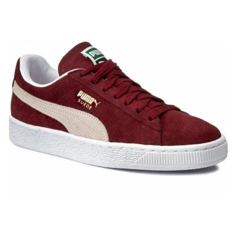 Puma Sneakersy Suede Classic+ 352634 75 Bordowy
