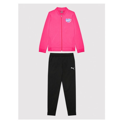 Puma Dres Poly 583317 Różowy Regular Fit