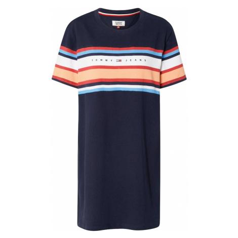 Tommy Jeans Sukienka 'TJW LOGO TEE DRESS' granatowy Tommy Hilfiger