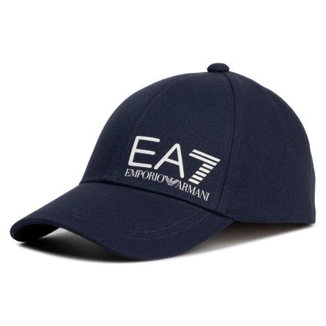 Czapka z daszkiem EA7 EMPORIO ARMANI - 275936 0P010 00136 Navy
