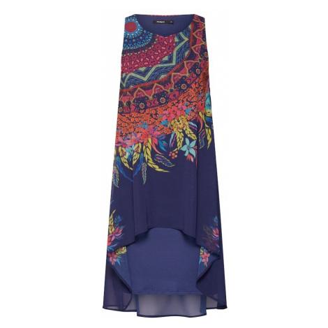 Desigual Sukienka 'VEST_ADRI' granatowy / mieszane kolory