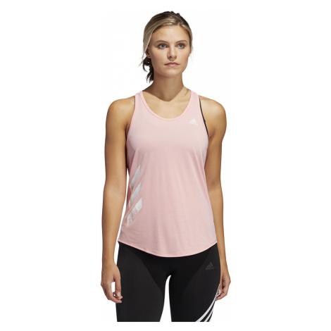 Koszulka adidas Own The Tank 3-Stripes PB Tank Top W Różowa