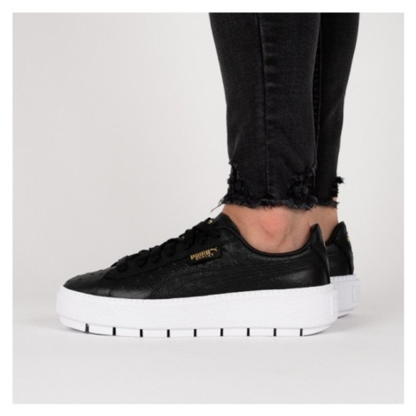 Buty damskie sneakersy Puma Platform Trace Ostrich Wns 366684 01