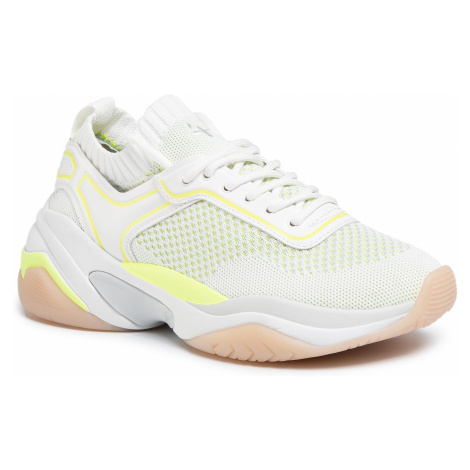 Sneakersy TAMARIS - 1-23736-24 White/Neon 139
