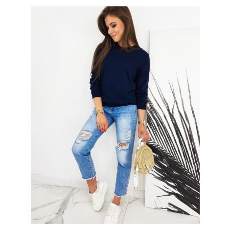 CARDIO women's sweatshirt navy blue BY0427 DStreet