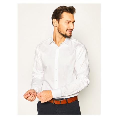 Boss Koszula Goran 50427958 Biały Regular Fit Hugo Boss