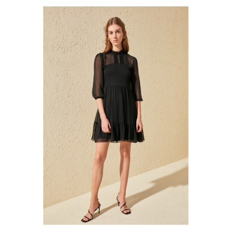 Trendyol Black Lacy Dress