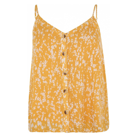 ABOUT YOU Curvy Top 'Athina' żółty / biały