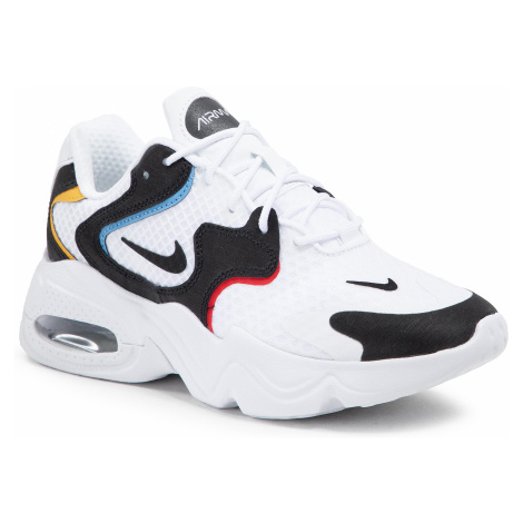 Buty NIKE - Air Max 2X DC1427 100 White/Black/Univerity Red