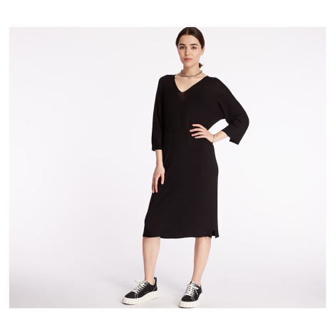 Pietro Filipi Lady's Seamless Knitted Dress Black