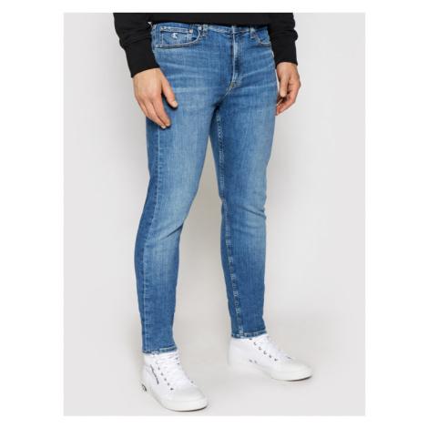 Calvin Klein Jeans Jeansy J30J317768 Niebieski Slim Fit