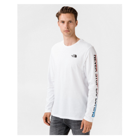 The North Face Graphic Flow Koszulka Biały