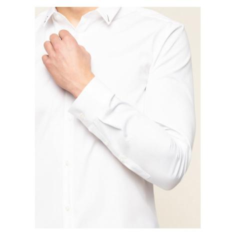 Hugo Koszula Ero 3 50421155 Biały Extra Slim Fit Hugo Boss