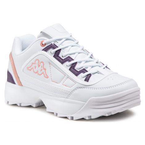 Sneakersy KAPPA - Rave Mf 242681MF White/Rose 1021