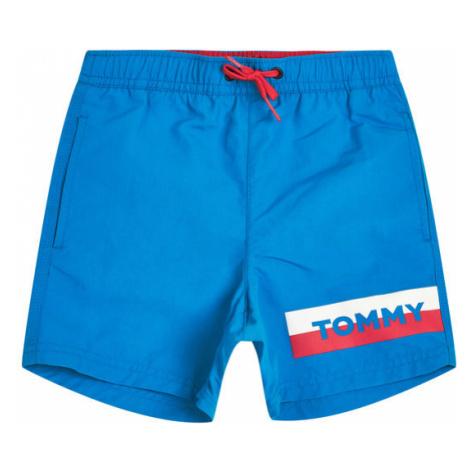 TOMMY HILFIGER Szorty kąpielowe Medium Drawstring UB0UB00277C24 Niebieski Regular Fit