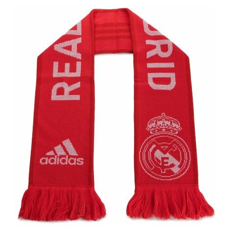 Szalik adidas - Real Scarf CY5604 Reacor/Vivred/White