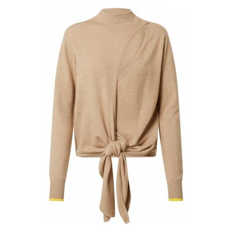 PATRIZIA PEPE Sweter beżowy / żółty