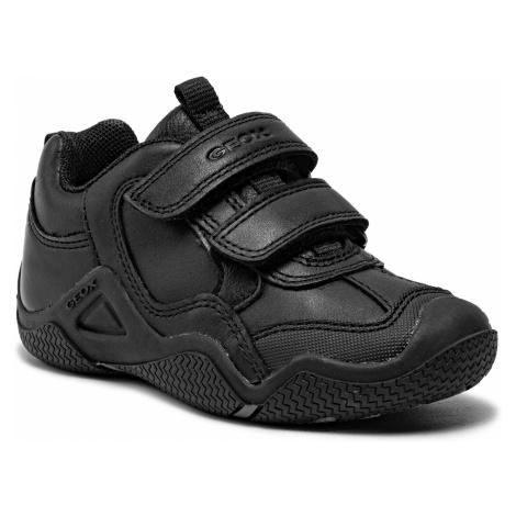 Sneakersy GEOX - J Wader A J8430A 043BC C9999 M Black