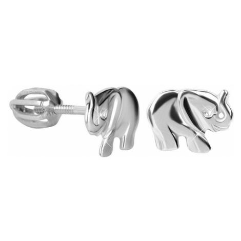 Brilio Silver Srebrne kolczyki dla dzieci 431 001 02267 04 - 1,34 g srebro 925/1000