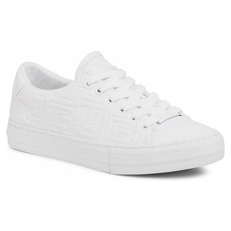 Sneakersy GUESS - Goldenn FL8GOL ELE12 WHITE