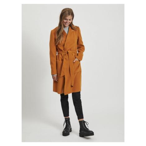 Pomarańczowy lekki płaszcz VILA Apple