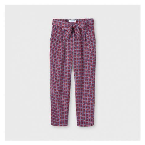 Mayoral Spodnie materiałowe 3558 Kolorowy Regular Fit