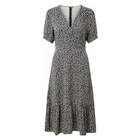 MOSS COPENHAGEN Letnia sukienka 'Lauralee Raye' kobalt niebieski / biały