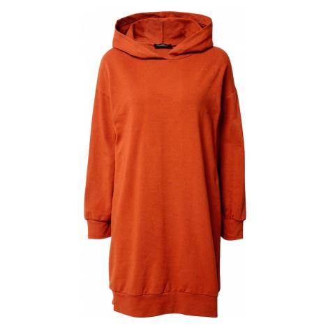 Zwillingsherz Bluzka sportowa 'Long Hoodie Josi' pomarańczowo-czerwony