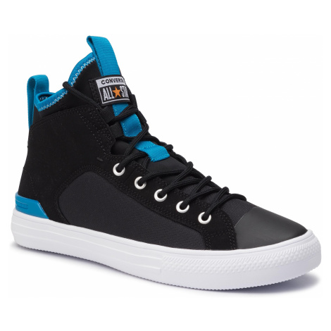 Sneakersy CONVERSE - Ctas Ultra Mid 165340C Black/Imperial Blue/White