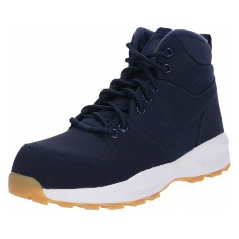 Nike Sportswear Kozaki 'Manoa 17 (GS) Boot' granatowy