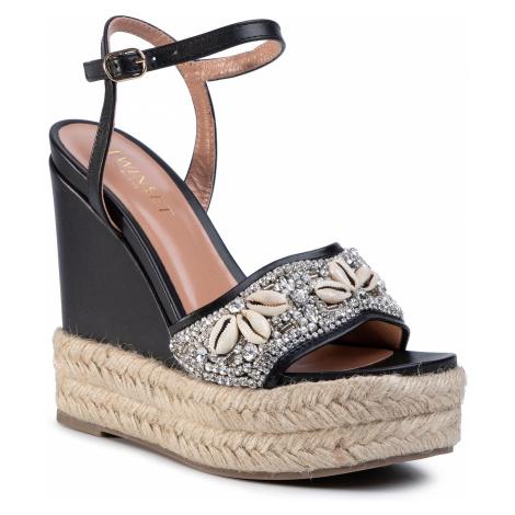 Espadryle TWINSET - Sandalo 201TCT020 Nero 00006